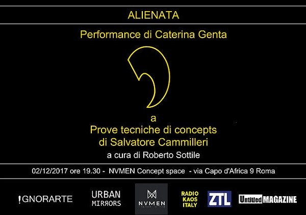 Alienata - Performance di Caterina Genta -